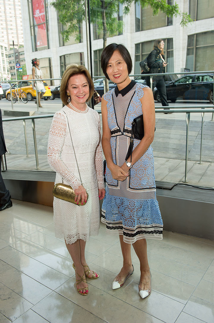 Global Council members Suzanne Vaucher and Shannon Wu