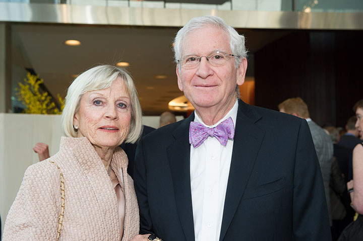 Inger Ginsberg, Board member William Ginsberg