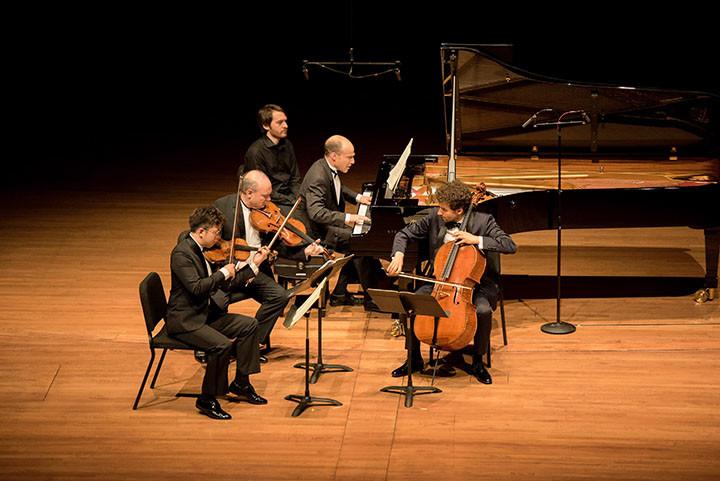 Paul Huang, Paul Neubauer, Orion Weiss, Nicholas Canellakis