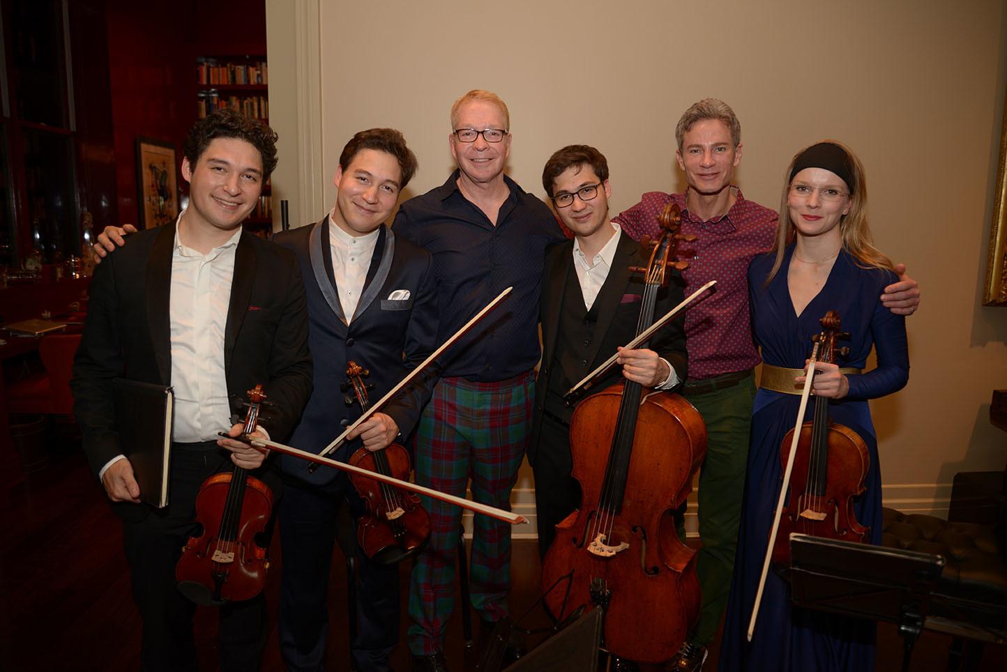 1)    Erik Schumann, Ken Schumann, Neil Westreich, Mark Schumann, Michael O'Keefe, Liisa Randalu