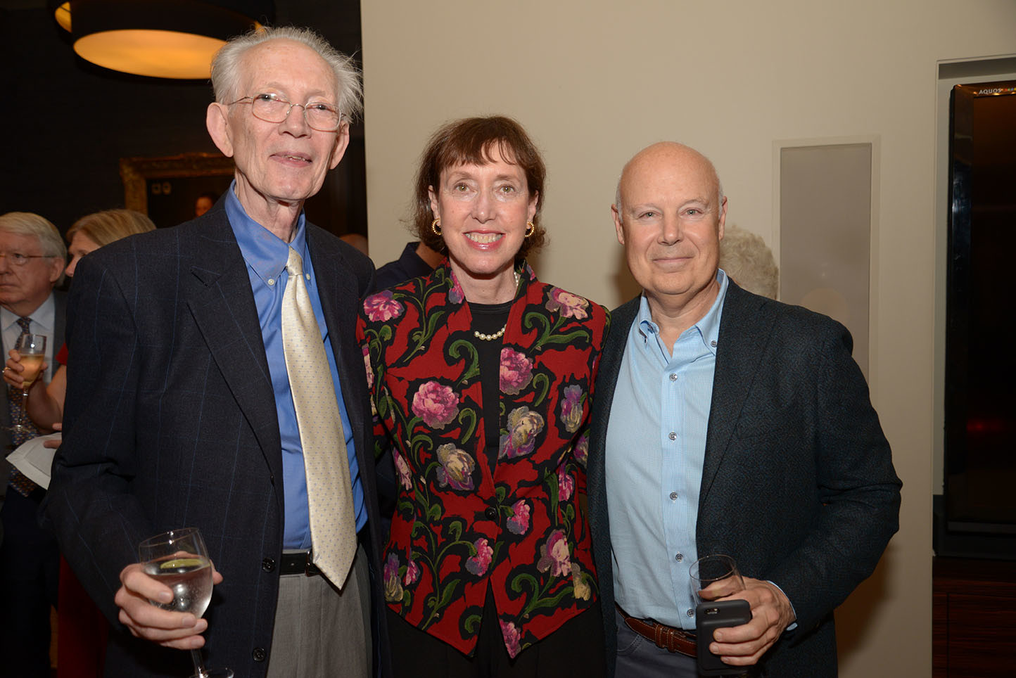 Suzanne Davidson with CMS Global Council Members Howard Dillon and Seth Novatt