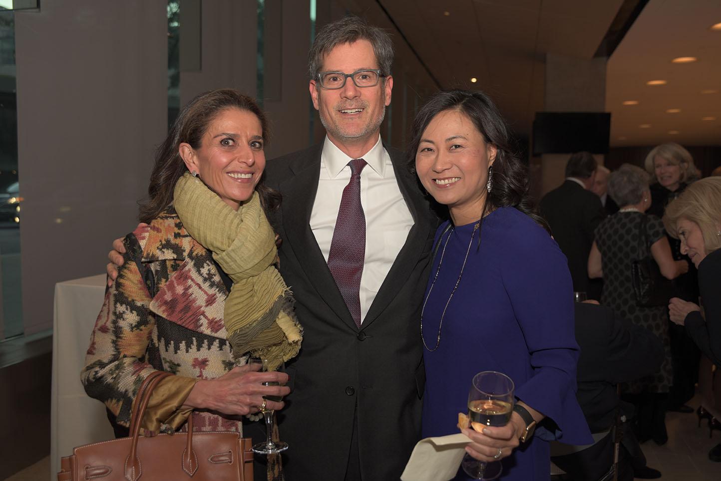 Laya Khadjavi, Michael Harpe, Vice Chairman Elinor Hoover