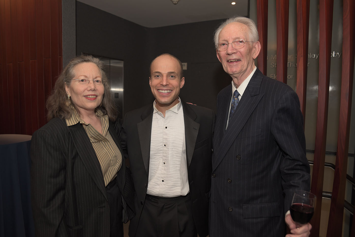Nell Dillon-Ermers, Orion Weiss, Global Council member Howard Dillon