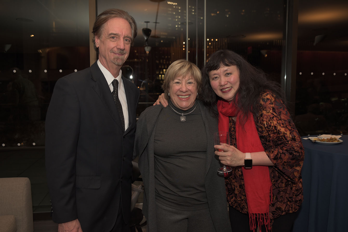 Artistic Director David Finckel, Marsha Laufer, Artistic Director Wu Han