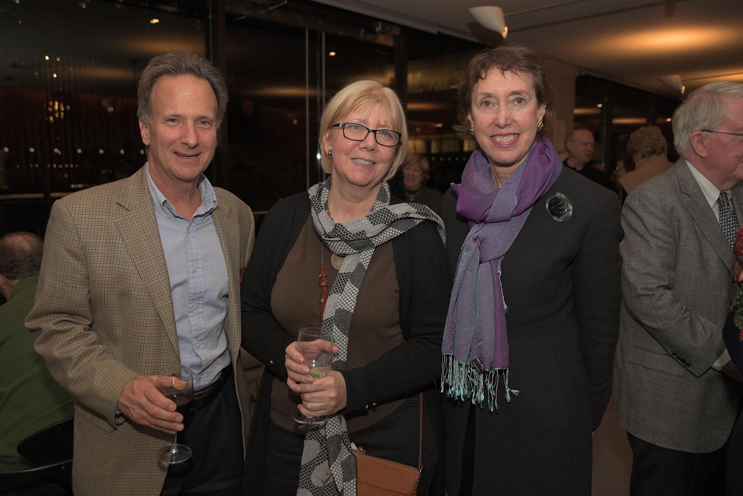 Joseph Valenza, Patricia Frost, Suzanne Davidson