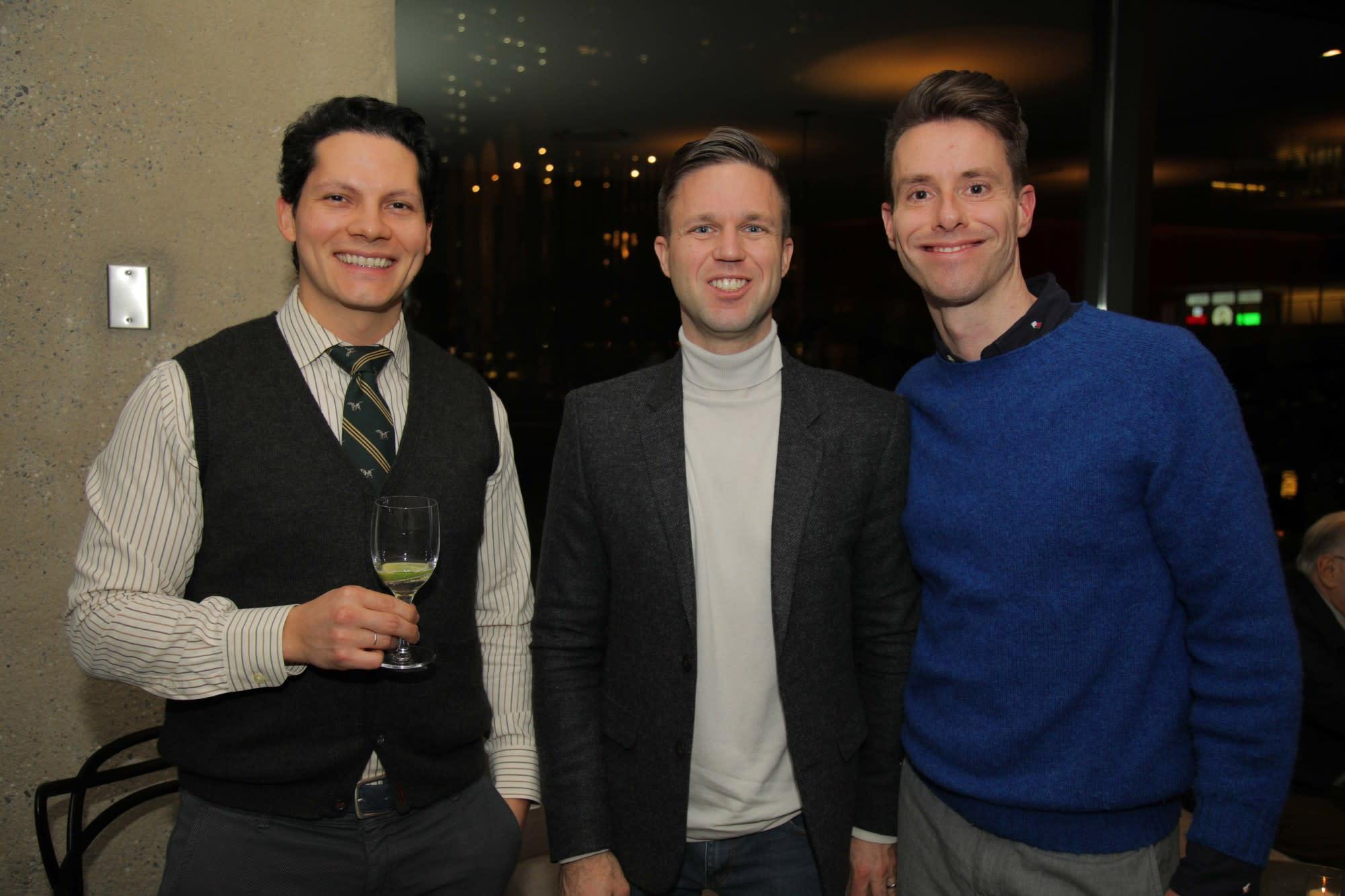 Mark Franks, Matthew Reeg, Jordan Agee