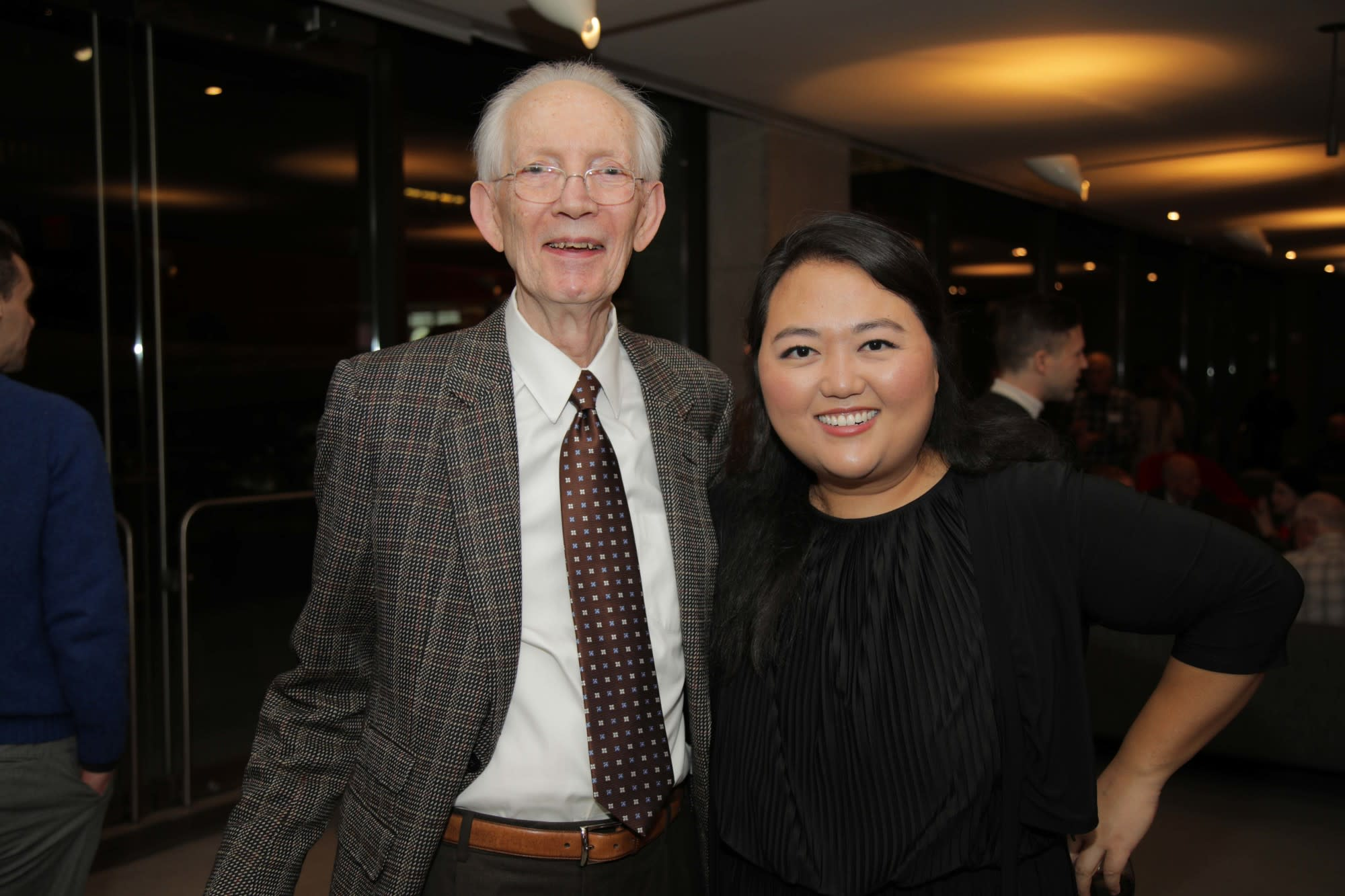 Global Council member Howard Dillon, Estelle Choi