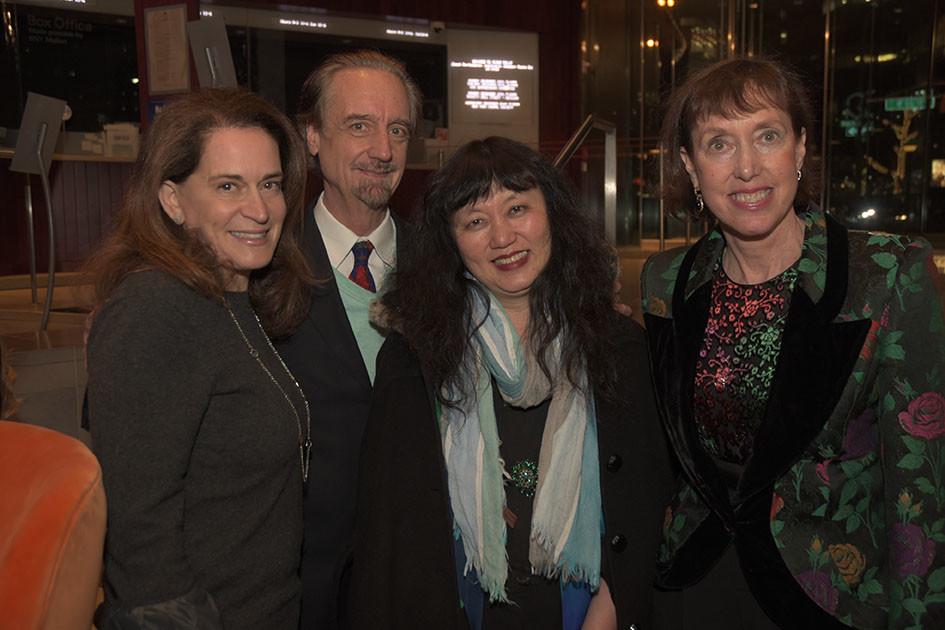 Debora Spar, President LCPA, Co-Artistic Directors David Finckel and Wu Han, Executive Director Suzanne Davidson