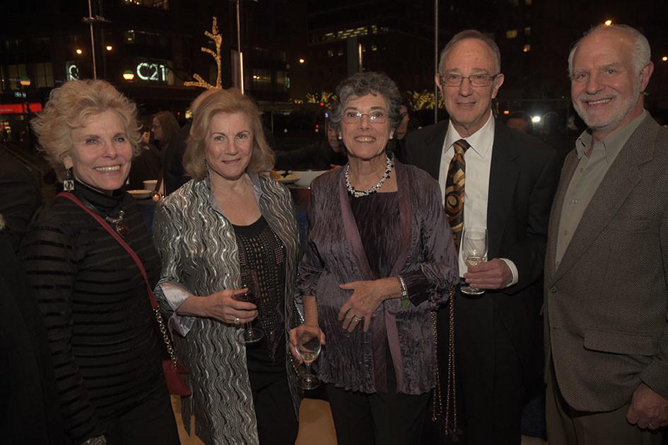 Beverly Hyman, Diane Vacca, Linda Keen, Jonathan Brezin, Lawrence Birnbach