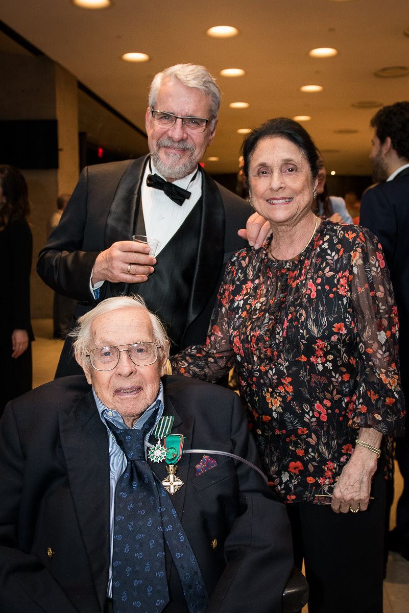 Founding Artistic Director Charles Wadsworth, Susan Wadsworth, Ransom Wilson