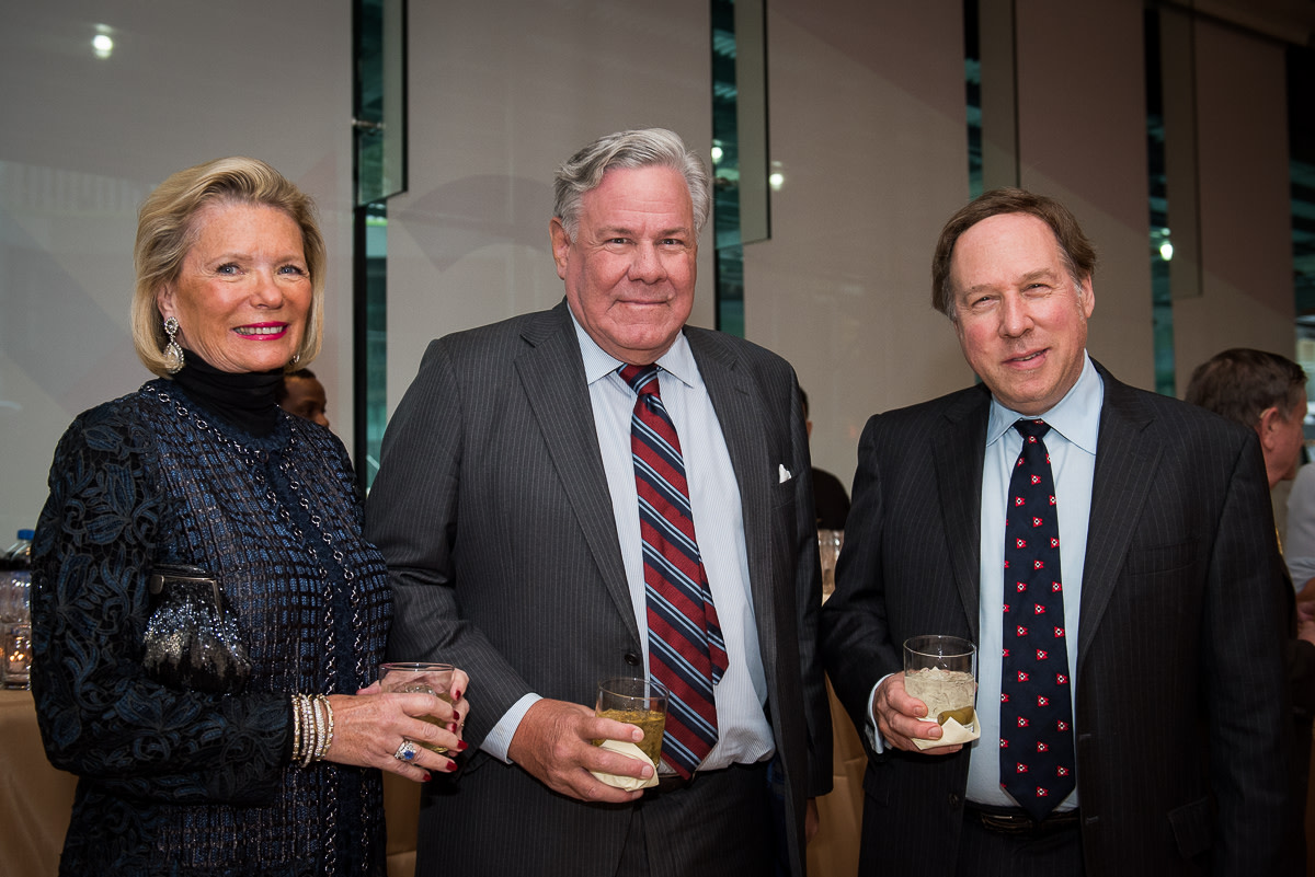 Michelle Coppedge, James MacGuire, Board member Paul Gridley