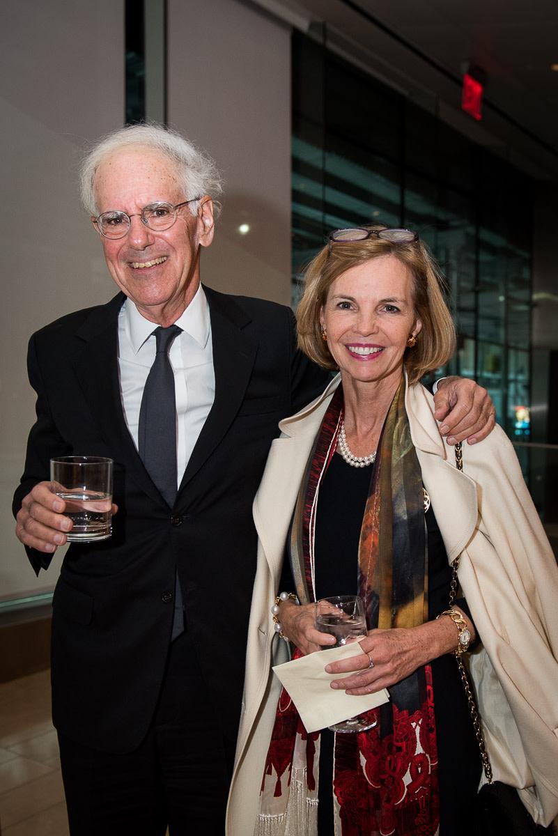 Dan Slott, Board member Linda Daines