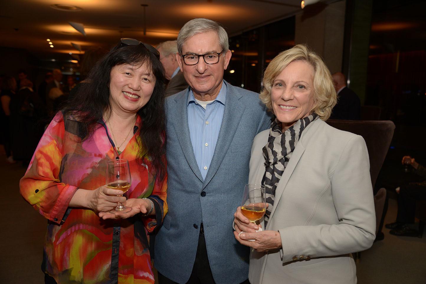 CMS Artistic Director Wu Han, Roger and Jill Witten