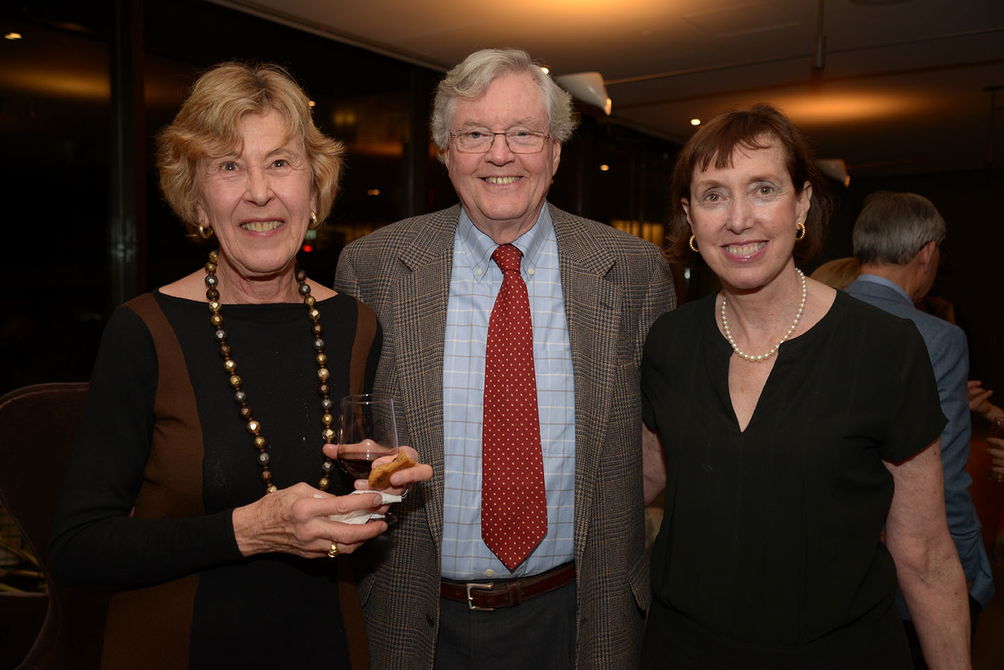Laura and Henry Conley, CMS Executive Director Suzanne Davidson