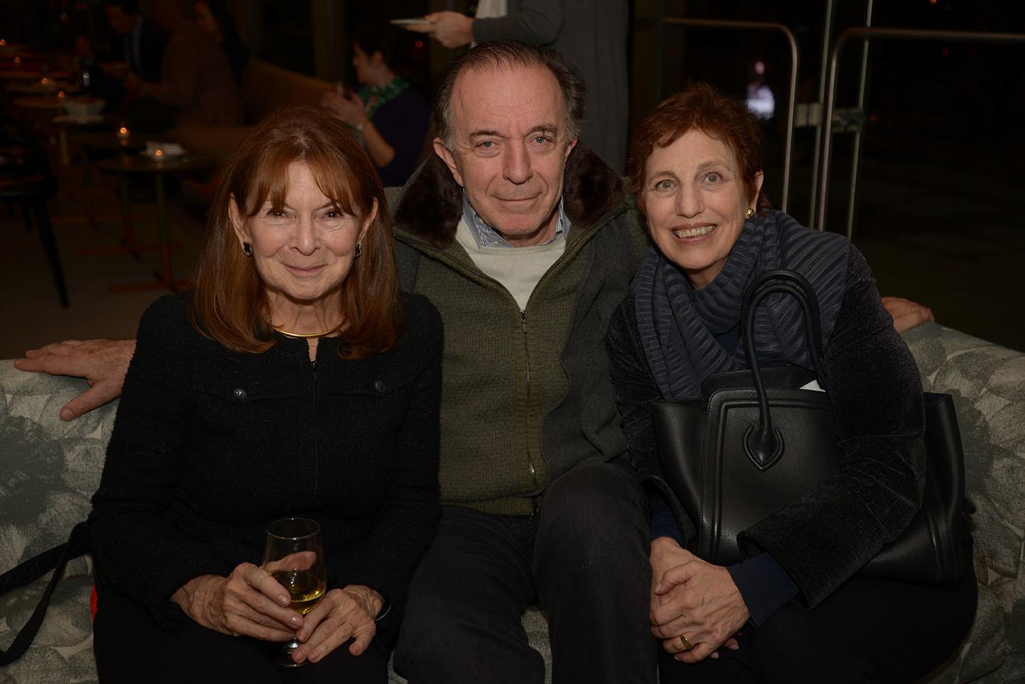 Board member Priscilla Kauff, Peter Klein, Phyllis Urman-Klein