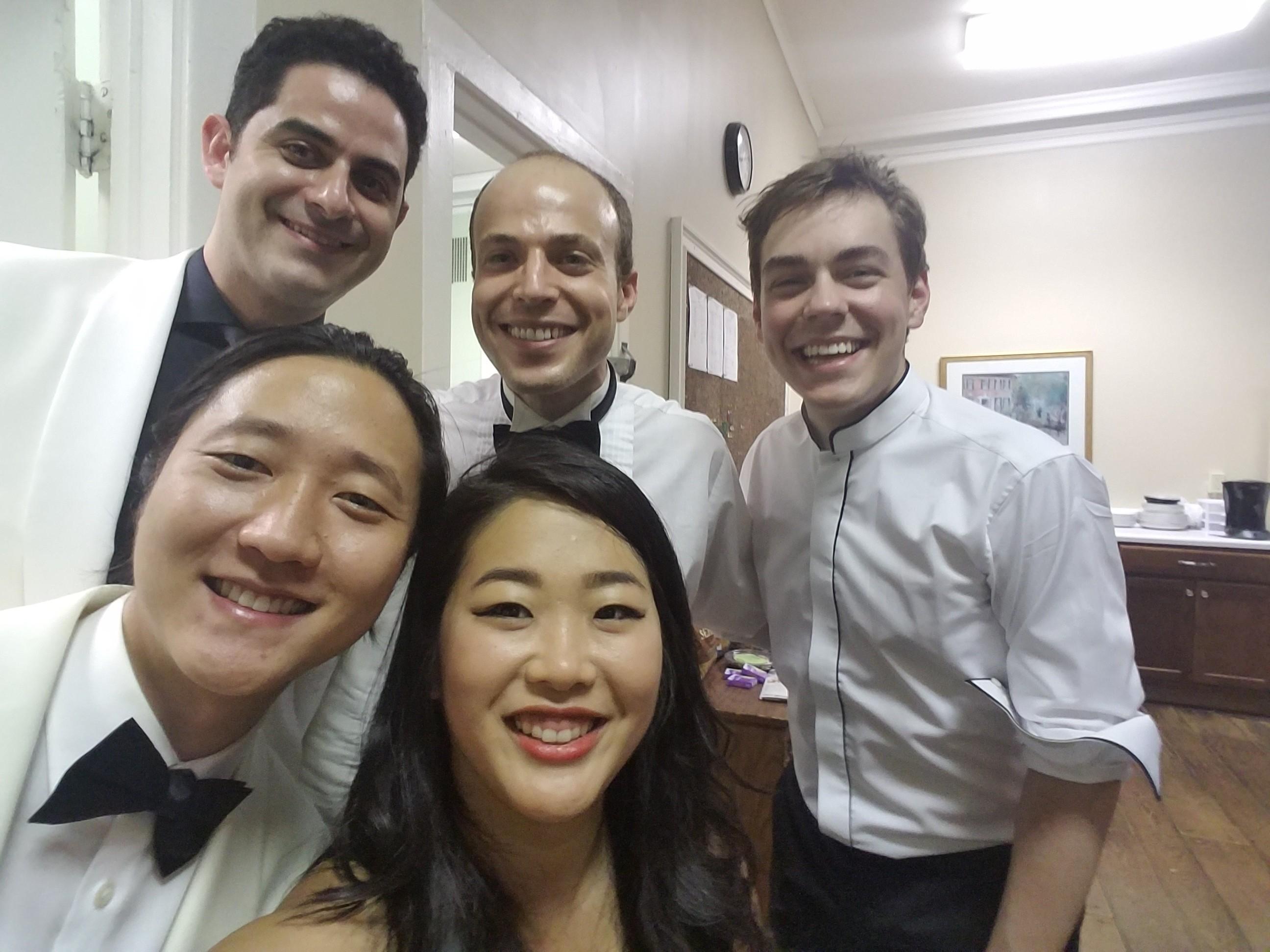 CMS Artists selfie