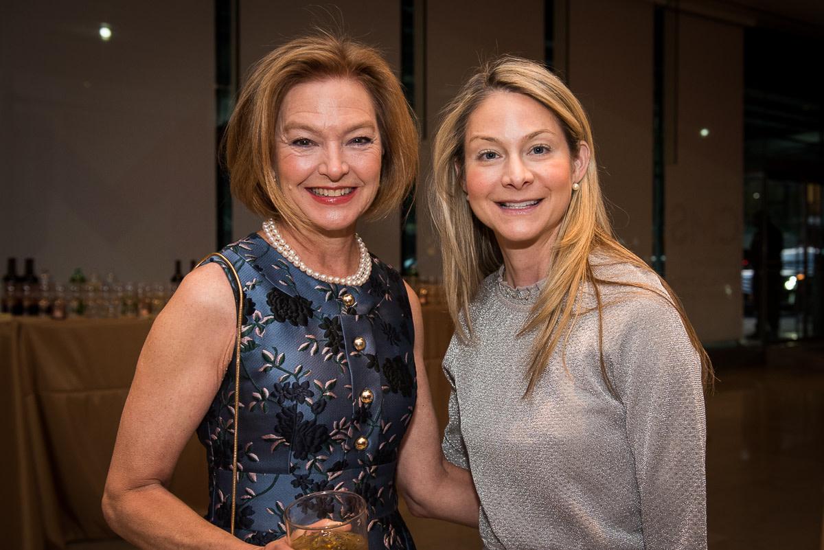 Board members Suzanne Vaucher, and Jennifer Garrett