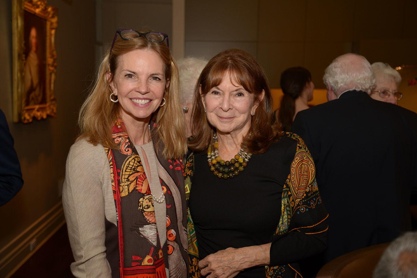 Linda Daines, CMS Board Member Priscilla Kauff