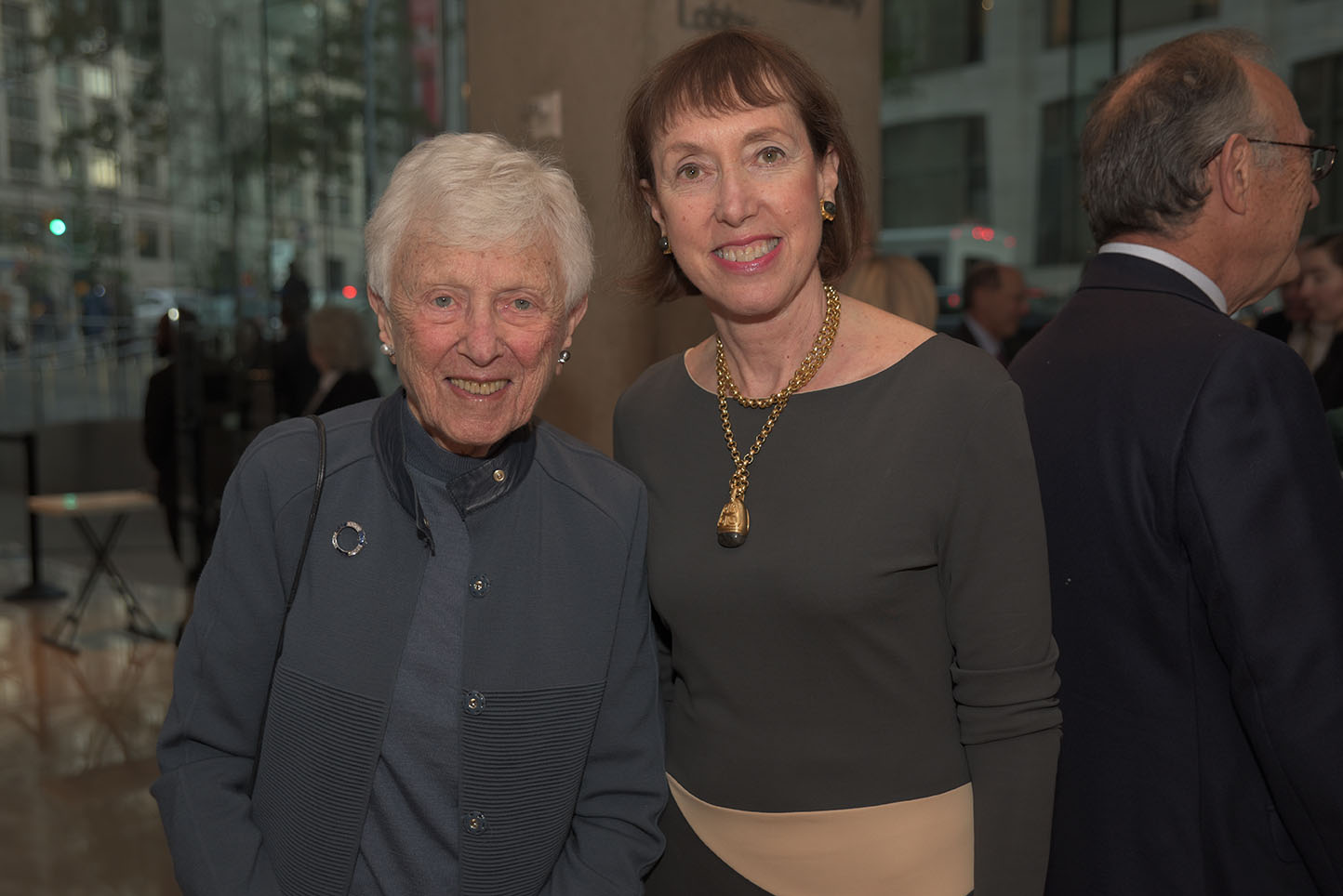 Pearl Staller, Executive Director Suzanne Davidson