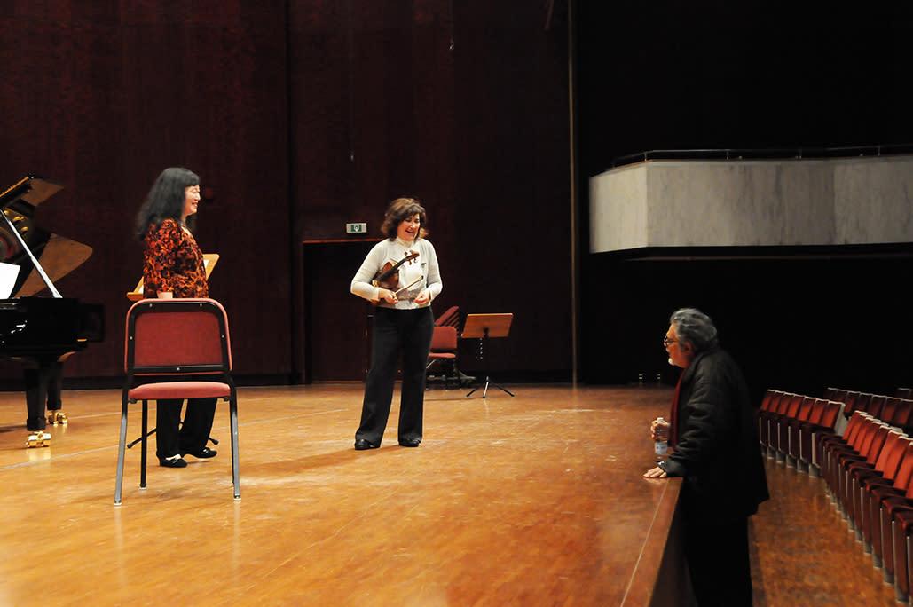 Leon Fleisher, Wu Han, and Ani Kavafian