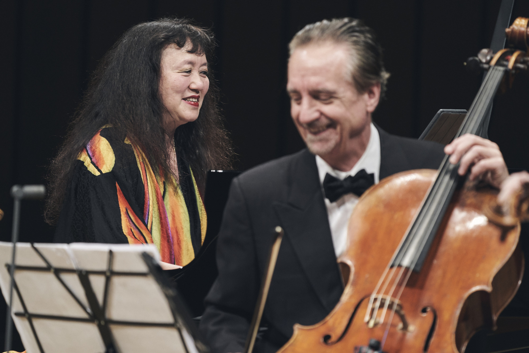 Wu Han and David Finckel at National Kaohsiung Center for the Arts - Weiwuying.