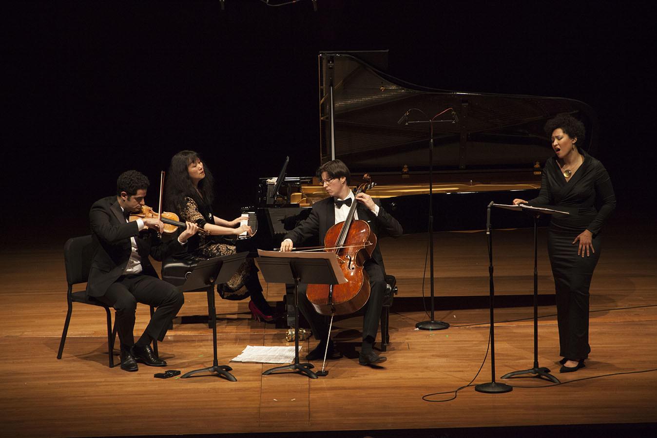 Arnaud Sussman, Wu Han, Daniel Müller-Schott, Julia Bullock