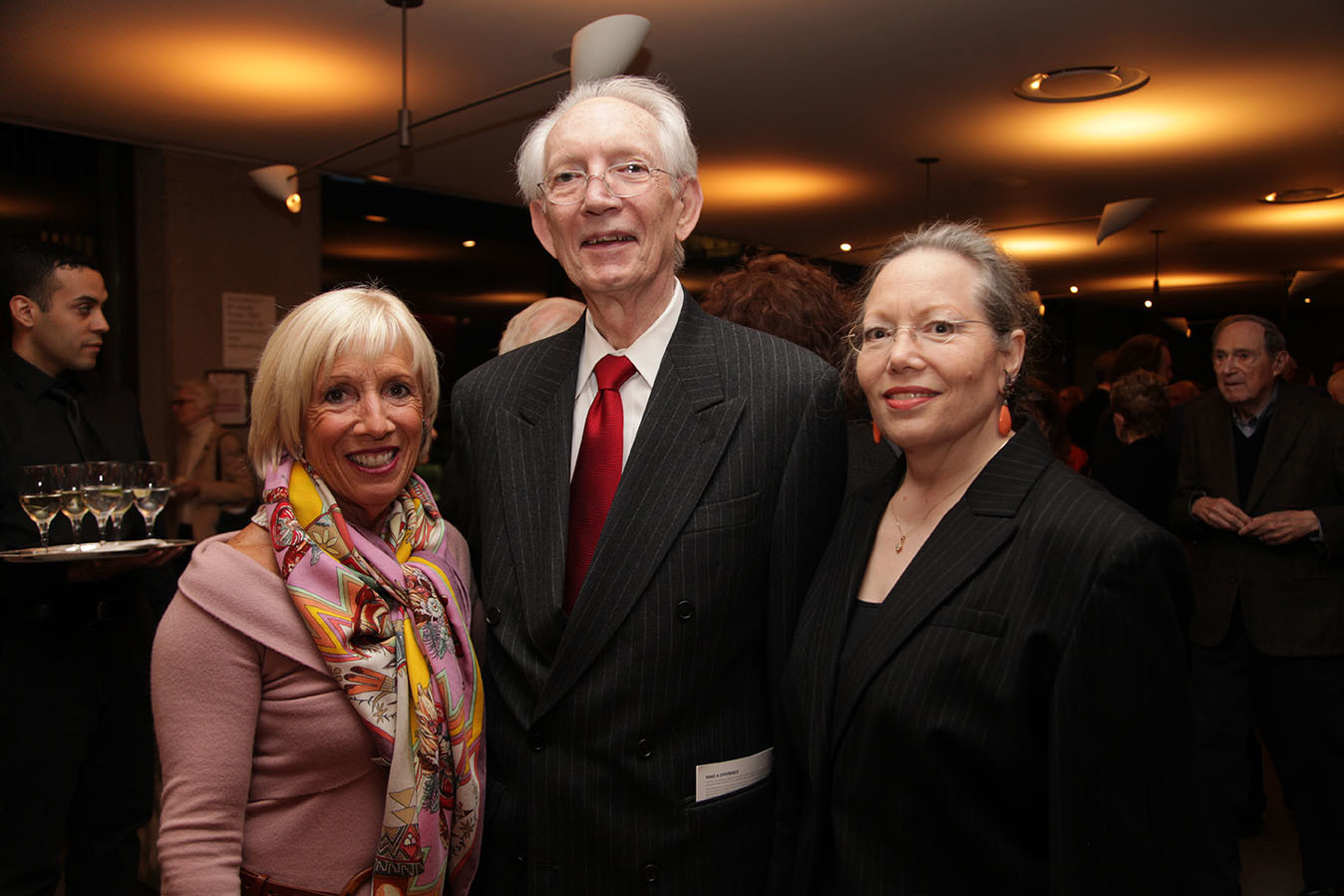 Global Council Members Vicki Kellogg and Howard Dillon, Nell Dillon-Ermers