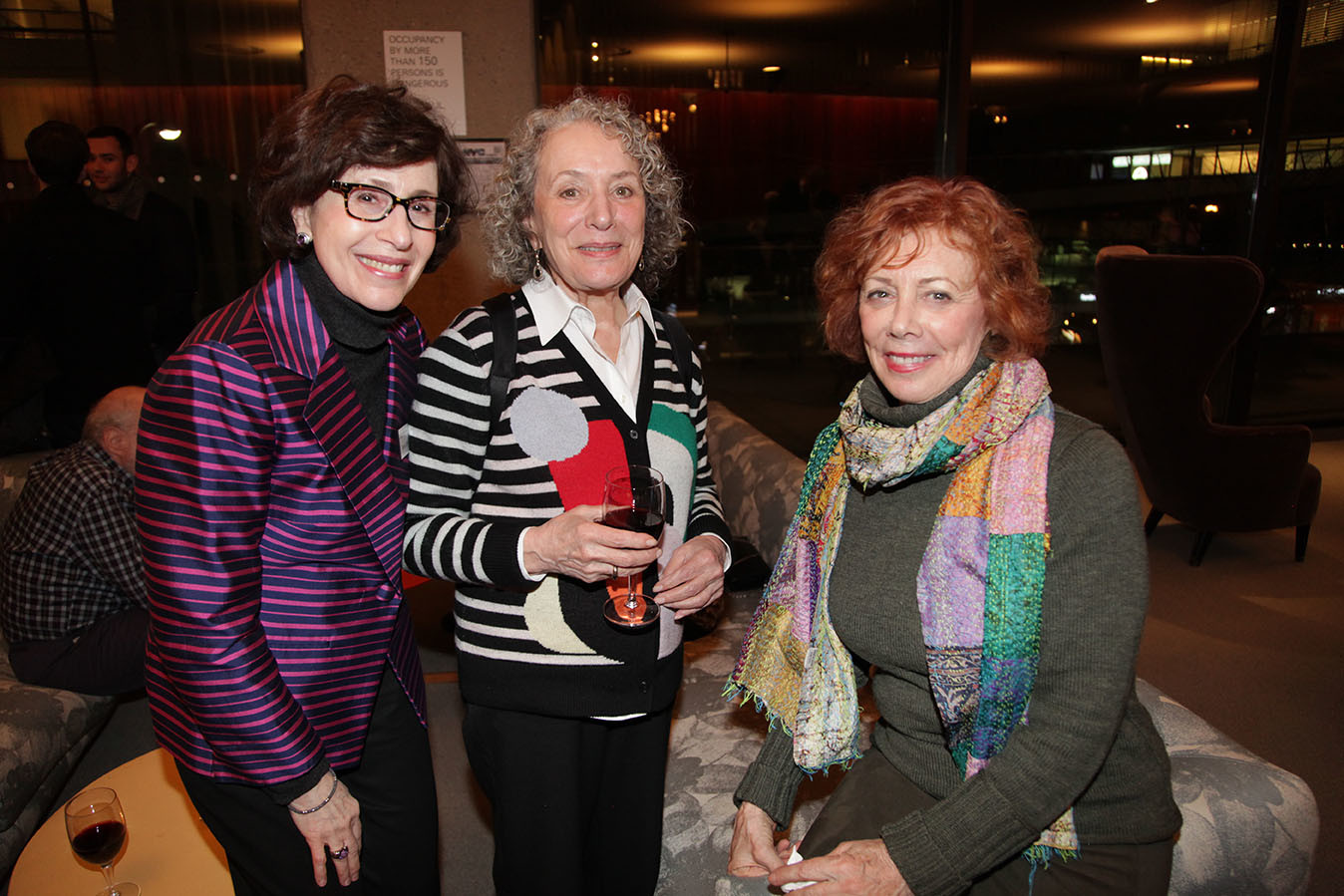 Development Director Sharon Griffin, Adele Bildersee, Judith Warren