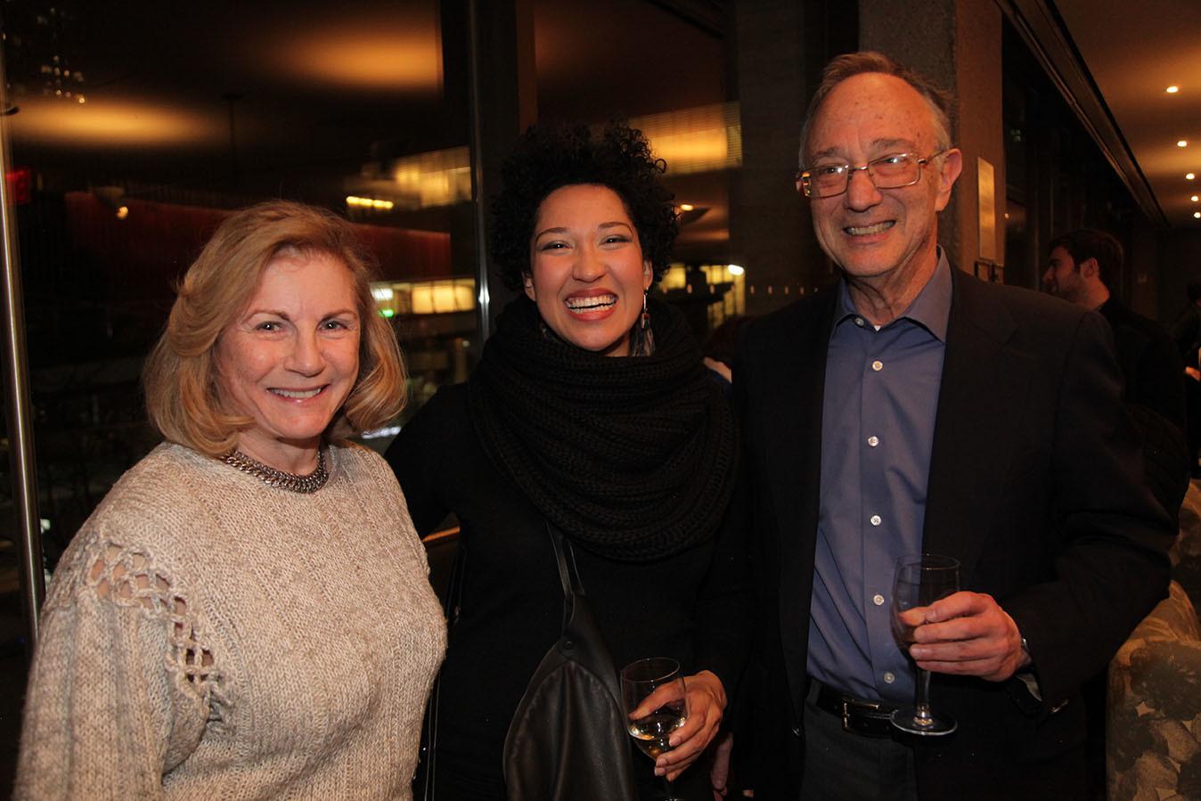 Diane Vacca, Julia Bullock, Jonathan Brezin