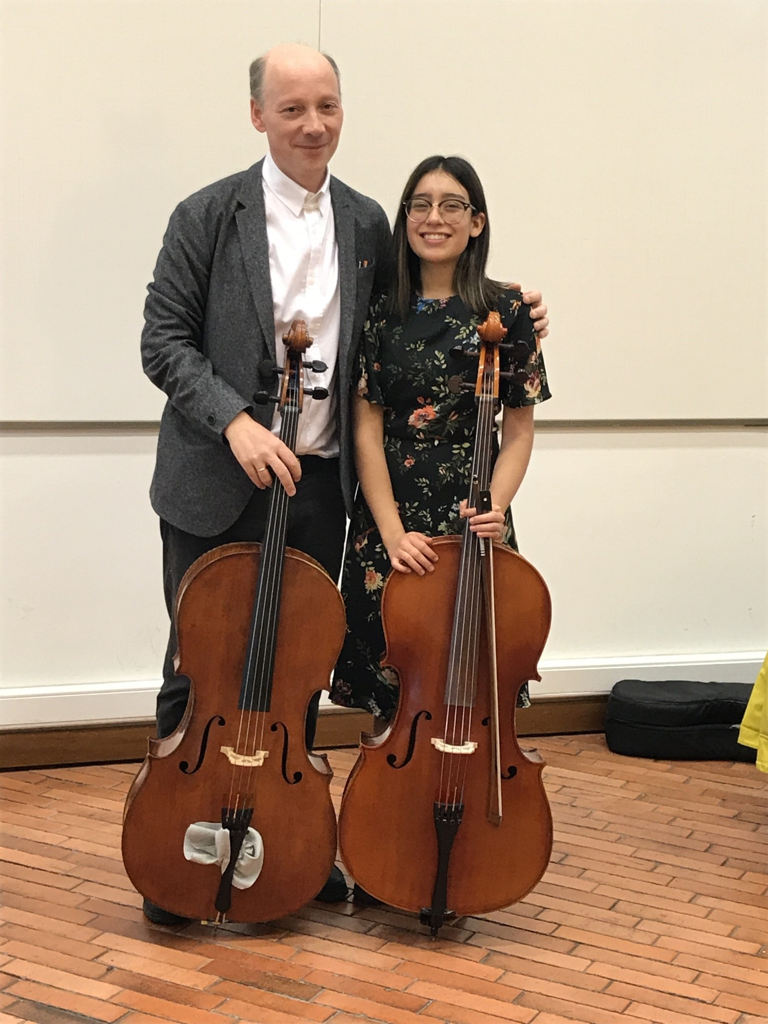 Master Class with cellist Clive Greensmith