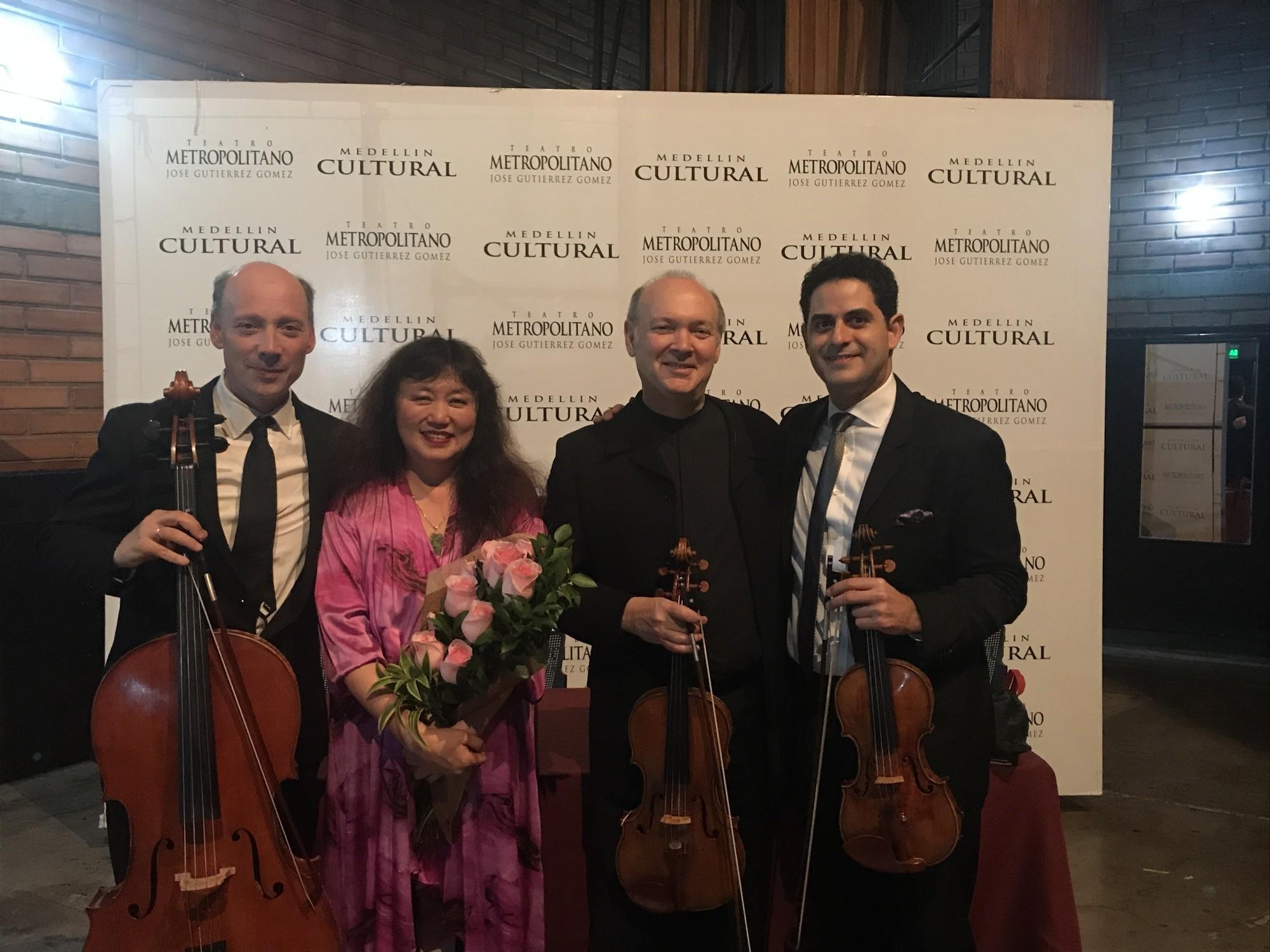 Clive Greensmith, Wu Han, Paul Neubauer, Arnaud Sussmann