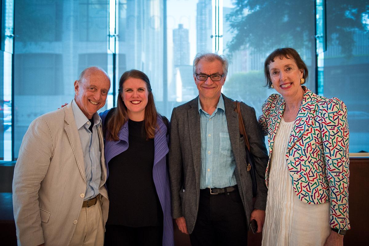 Earl Weiner, Erin Keefe, Osmo Vänskä, Executive Director Suzanne Davidson