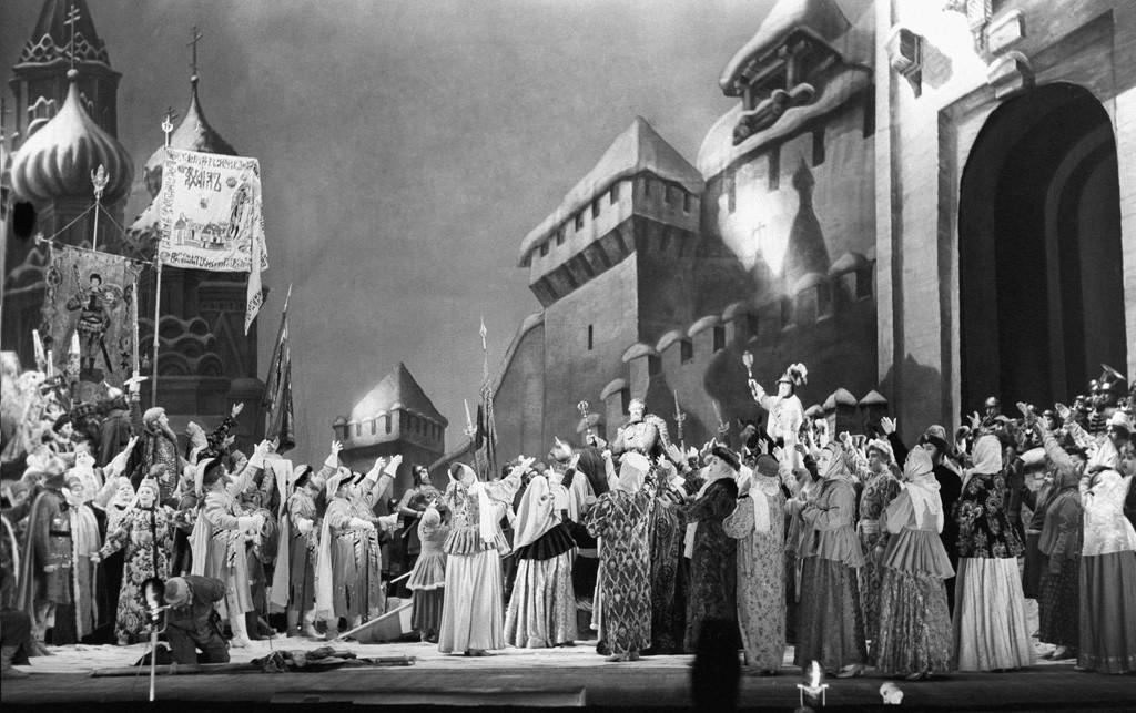 Soviet-era production of Glinka's opera A Life for the Tsar