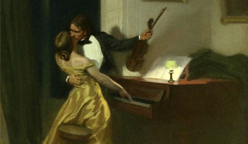 Kreutzer Sonata by Rene-Xavier Prinet