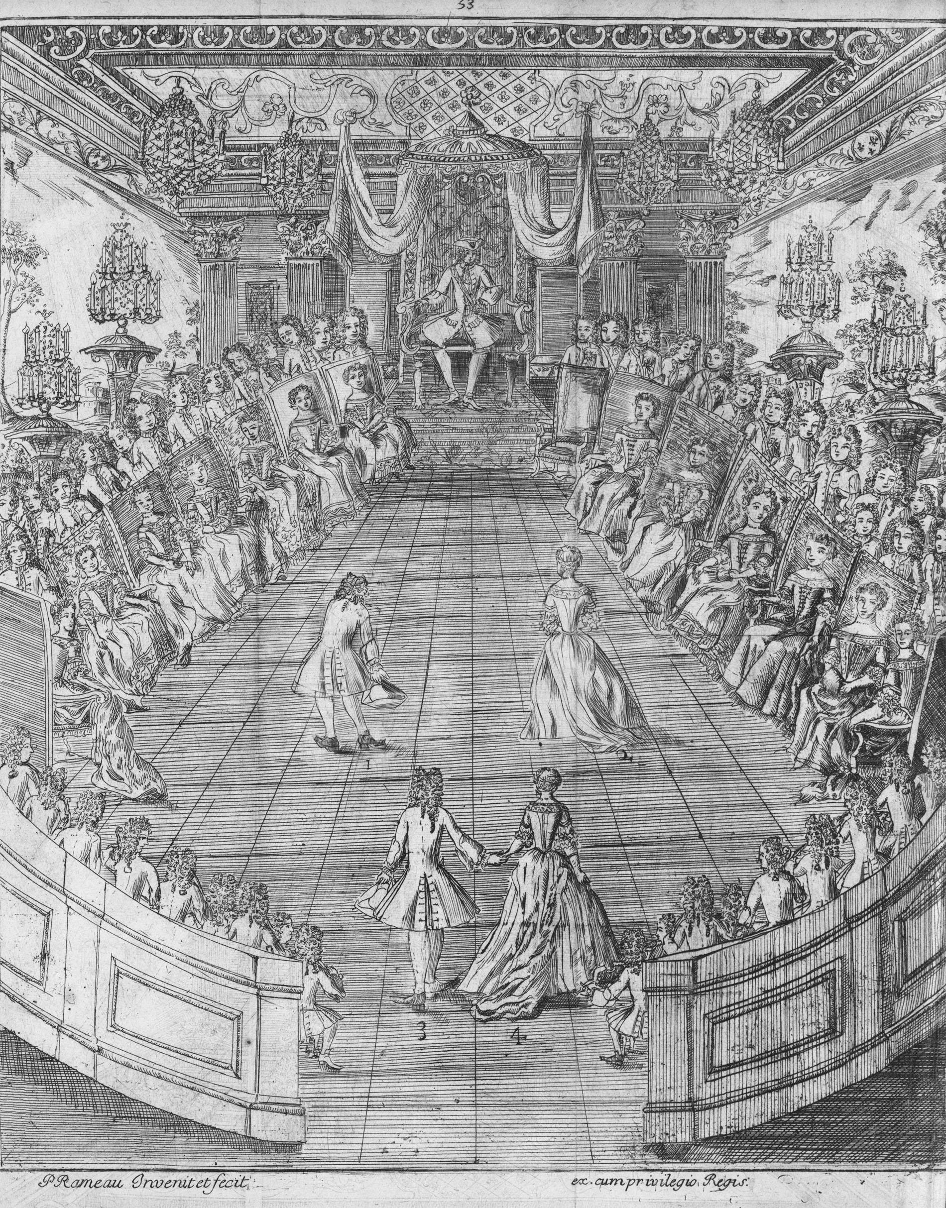 Pierre Rameau's Le maître à danser