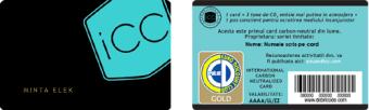 Solicitare card - iCC Neutral Card