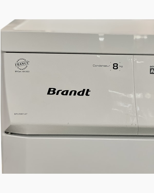 Sèche-linge Ouverture frontale Brandt BFD581AT 3