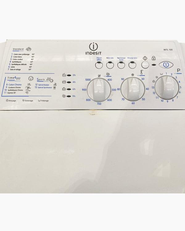 Lave-linge Ouverture par le haut indesit WITL100 2