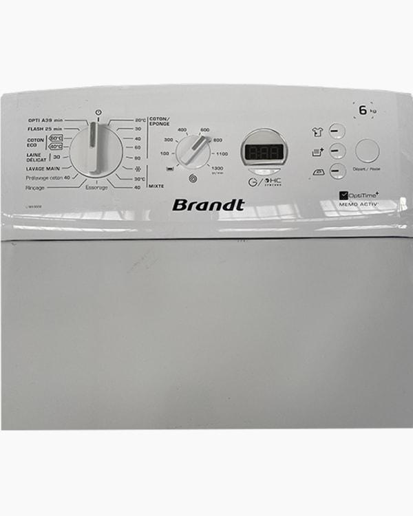 Lave-linge Ouverture par le haut Brandt LTB63000 2