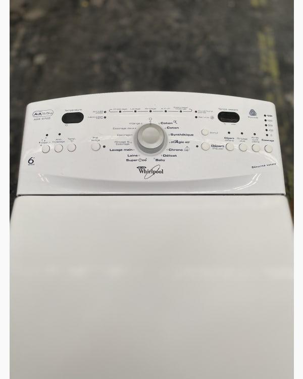 Lave-linge Ouverture par le haut Whirlpool AWE8728 2