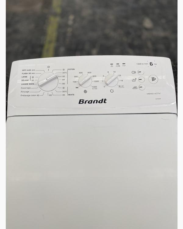Lave-linge Ouverture par le haut Brandt WTC63F 3
