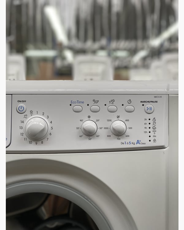 Lave-linge Ouverture frontale indesit IWC5125 2