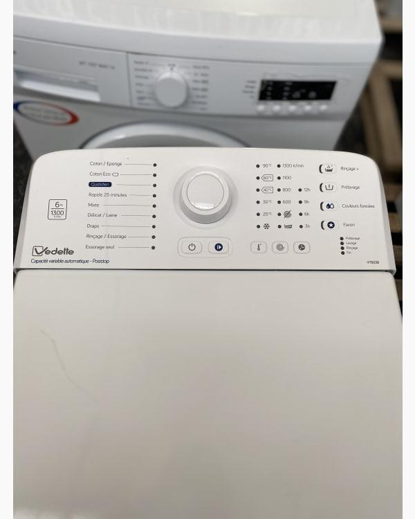 Lave-linge Ouverture par le haut Vedette VT603B/01 3