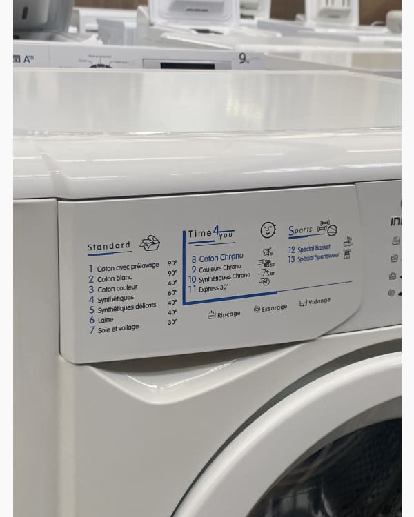 Lave-linge Ouverture frontale indesit WIL13 3