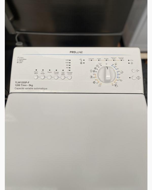 Lave-linge Ouverture par le haut Proline TLW1255P 2