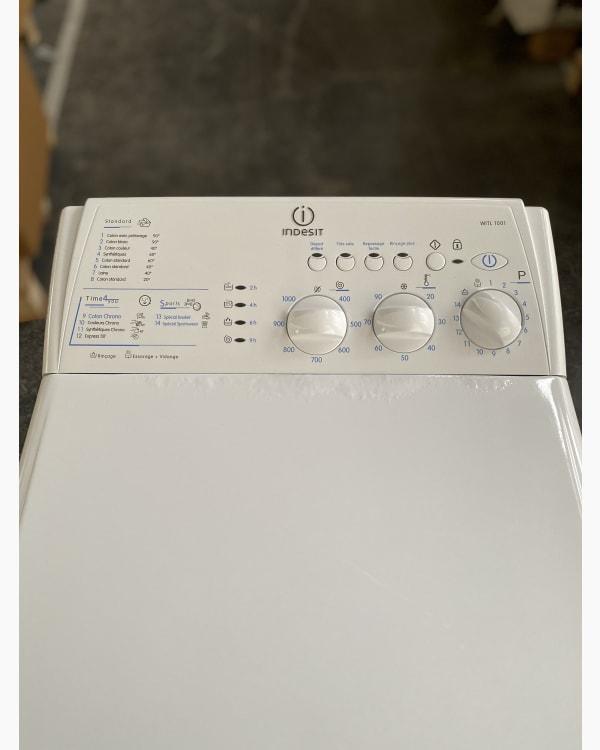 Lave-linge Ouverture par le haut indesit WITL 1001 3