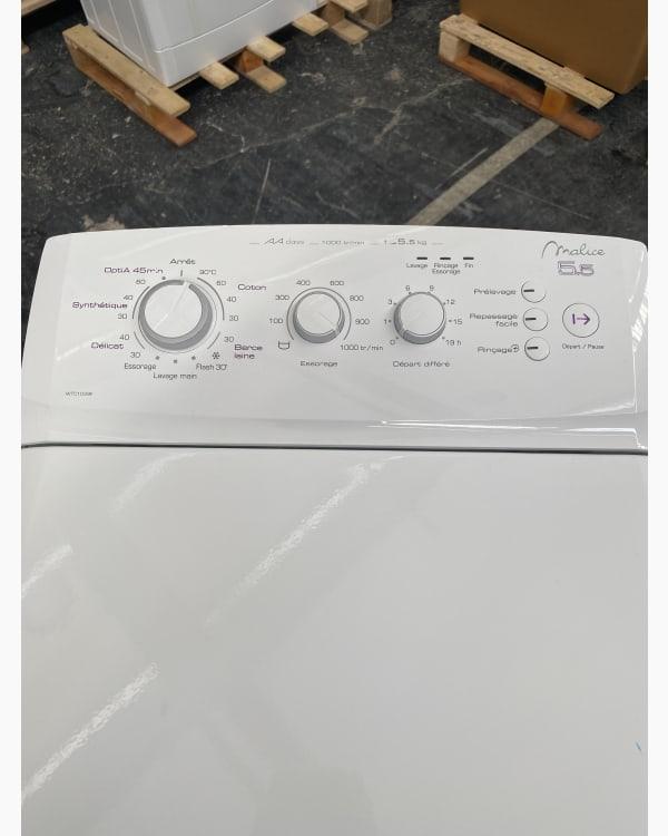 Lave-linge Ouverture par le haut Vedette Wlt5100w 2