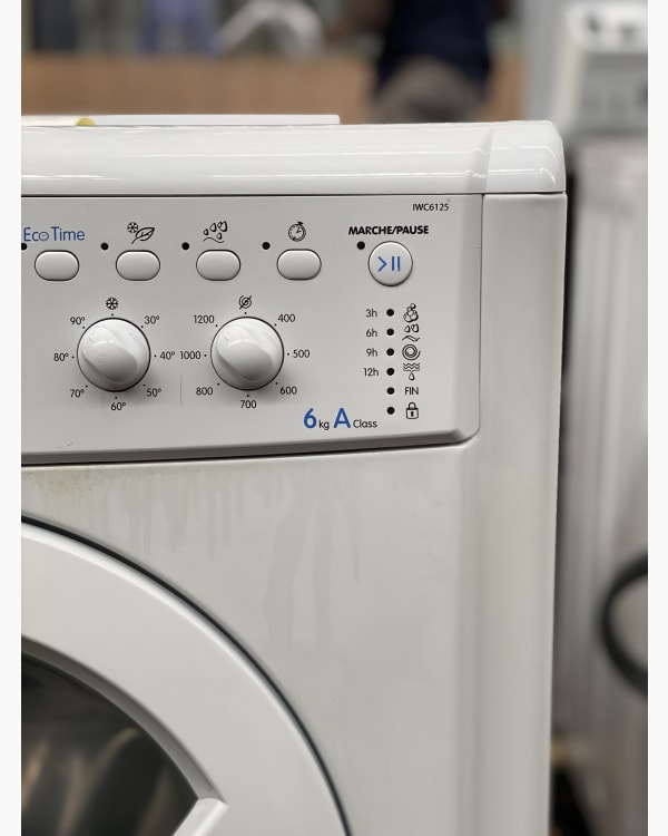 Lave-linge Ouverture frontale indesit IWC6125 3