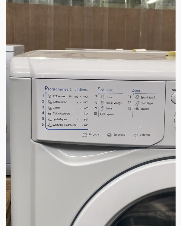 Lave-linge Ouverture frontale indesit IWD6105 3