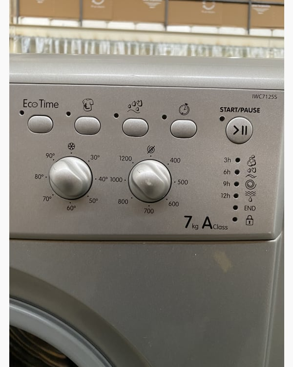 Lave-linge Ouverture frontale Indesit IWC7125S 2